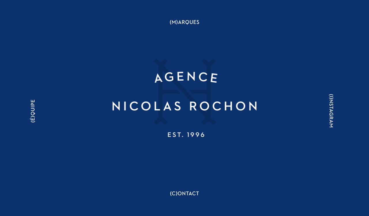 Nicolas Rochon Agency Website Screenshot