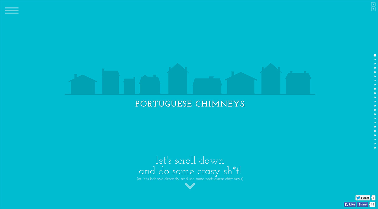 Portuguese Chimneys Website Screenshot