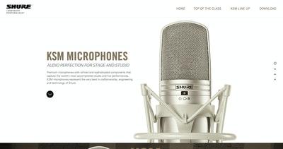 Shure KSM Microphones Thumbnail Preview
