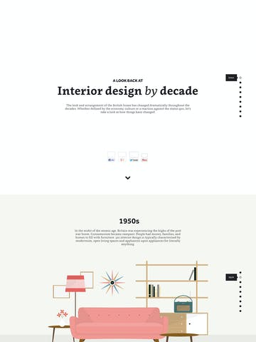 Interior Design by Decade Thumbnail Preview