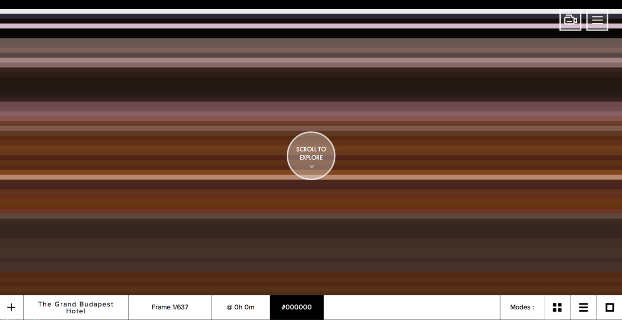 The Colors of Motion Website Screenshot