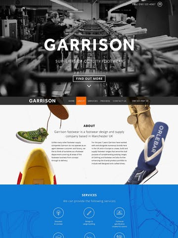 Garrison Footwear Thumbnail Preview