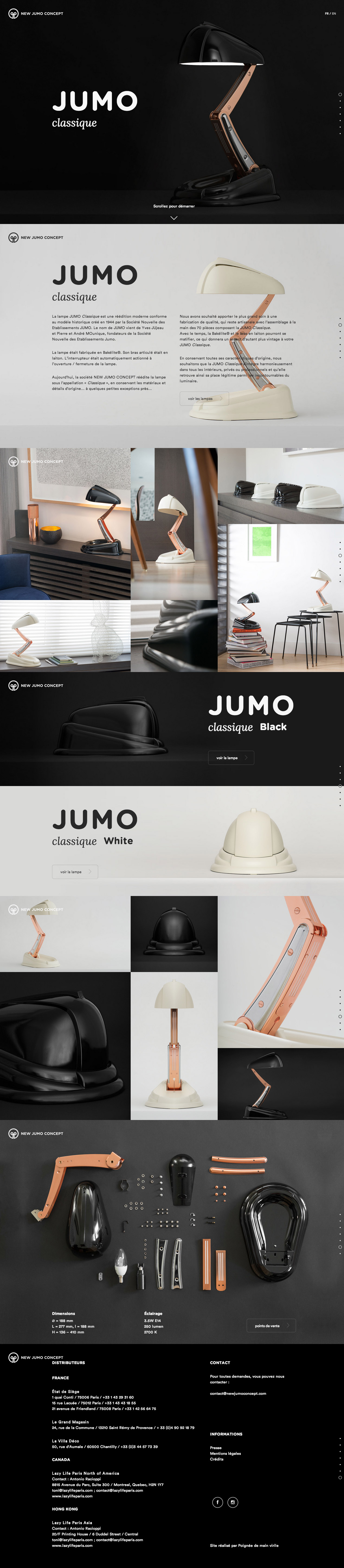 New Jumo Concept Website Screenshot