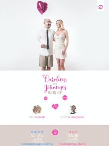 Caroline & Johannes Wedding Thumbnail Preview