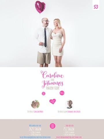 Caroline & Johannes Wedding Thumbnail Preview
