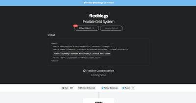 Flexible Grid System Thumbnail Preview