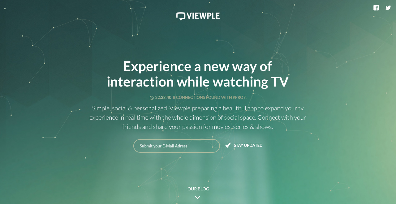 Viewple Website Screenshot
