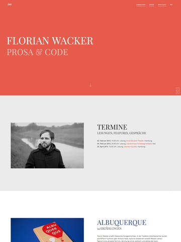Florian Wacker Thumbnail Preview