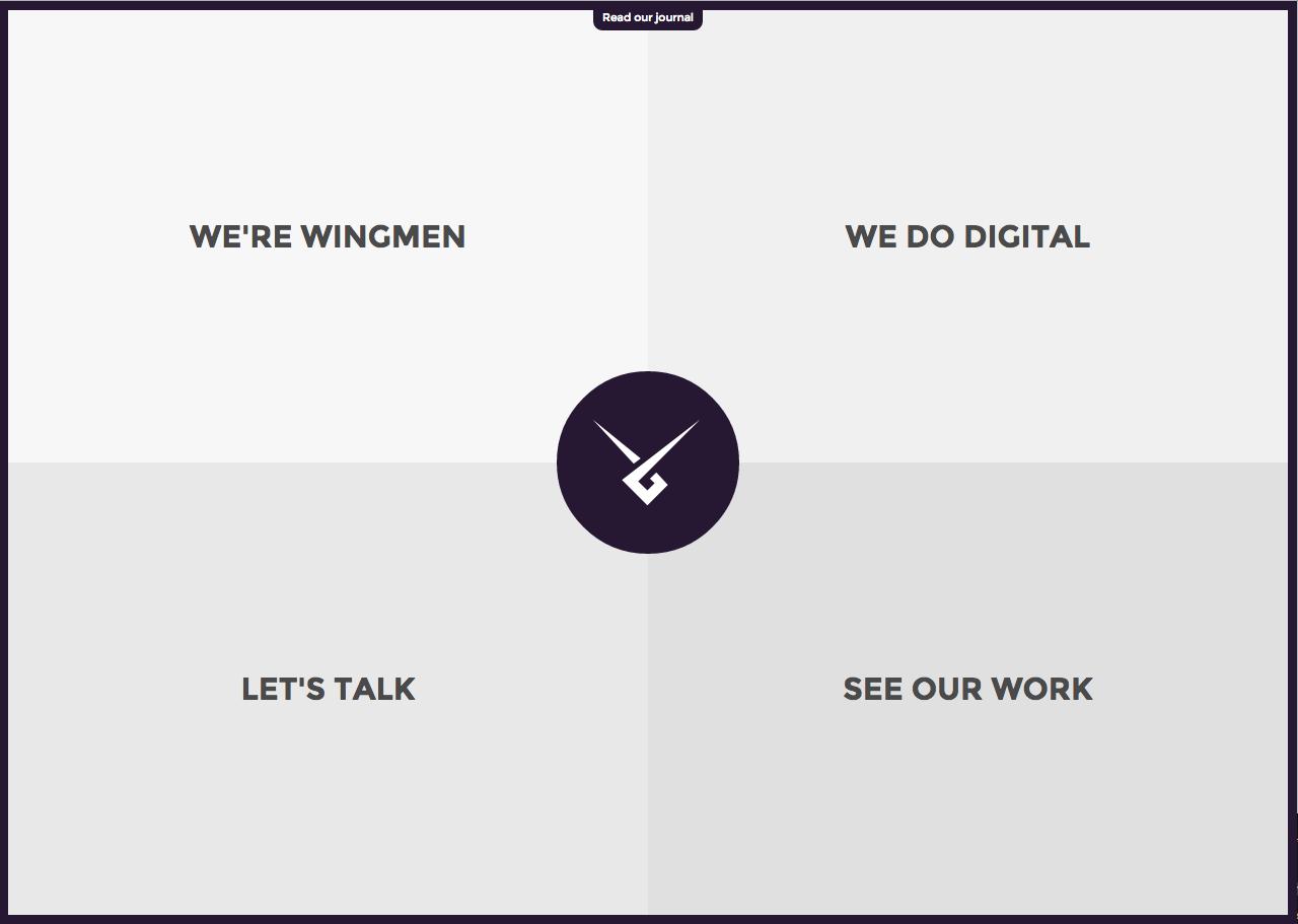 Wingmen Ltd Website Screenshot