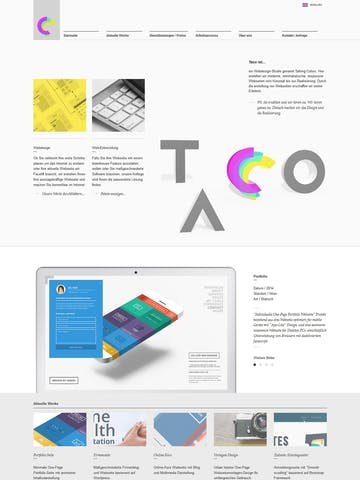 Talking Colors Web Design Studio Thumbnail Preview