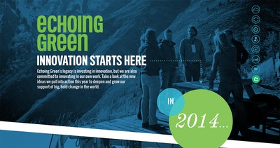 Echoing Green Annual Report Thumbnail Preview