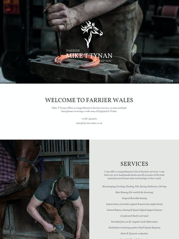Farrier Wales Thumbnail Preview