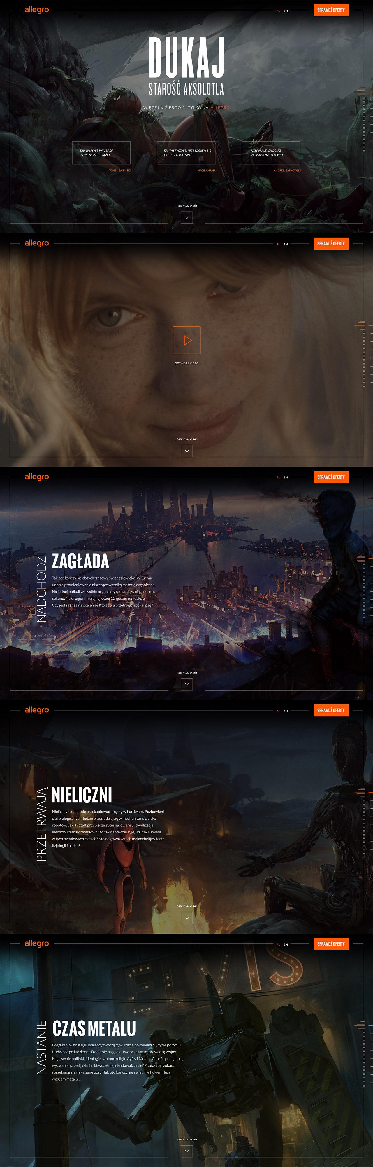 The Old Axolotl Website Screenshot