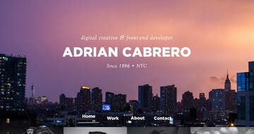 Adrian Cabrero Thumbnail Preview