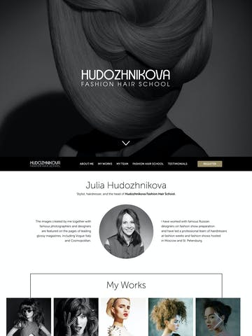Hudozhnikova Fashion Hair School Thumbnail Preview