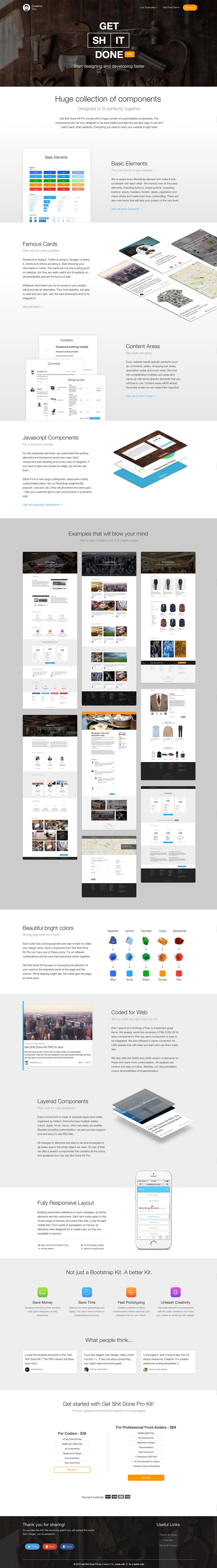 Get Shit Done Kit Pro Website Screenshot