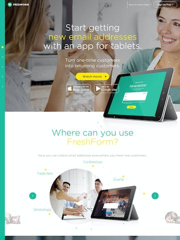 FreshForm Thumbnail Preview