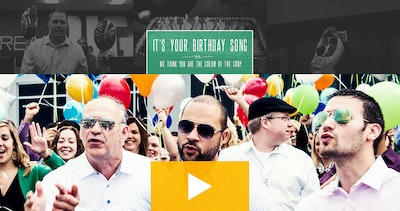 "Advisors Excel ""It's Your Birthday Song"" Thumbnail Preview"