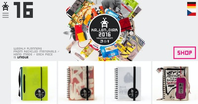 KA_LEN_DIAR – Unique Diaries 2016 Thumbnail Preview