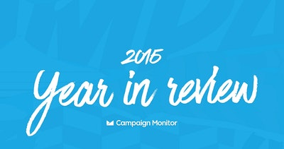 Campaign Monitor 2015 Year in Review Thumbnail Preview