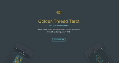 Golden Thread Tarot Thumbnail Preview