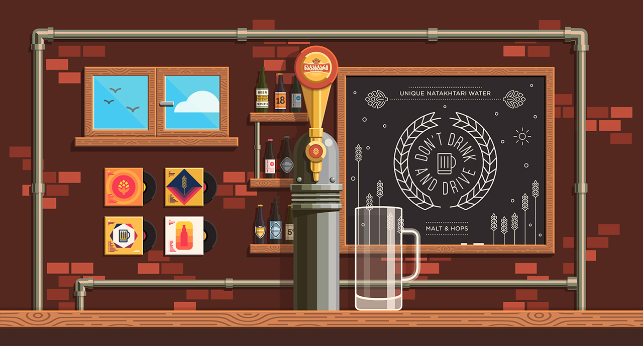 Cybeer Bar Website Screenshot