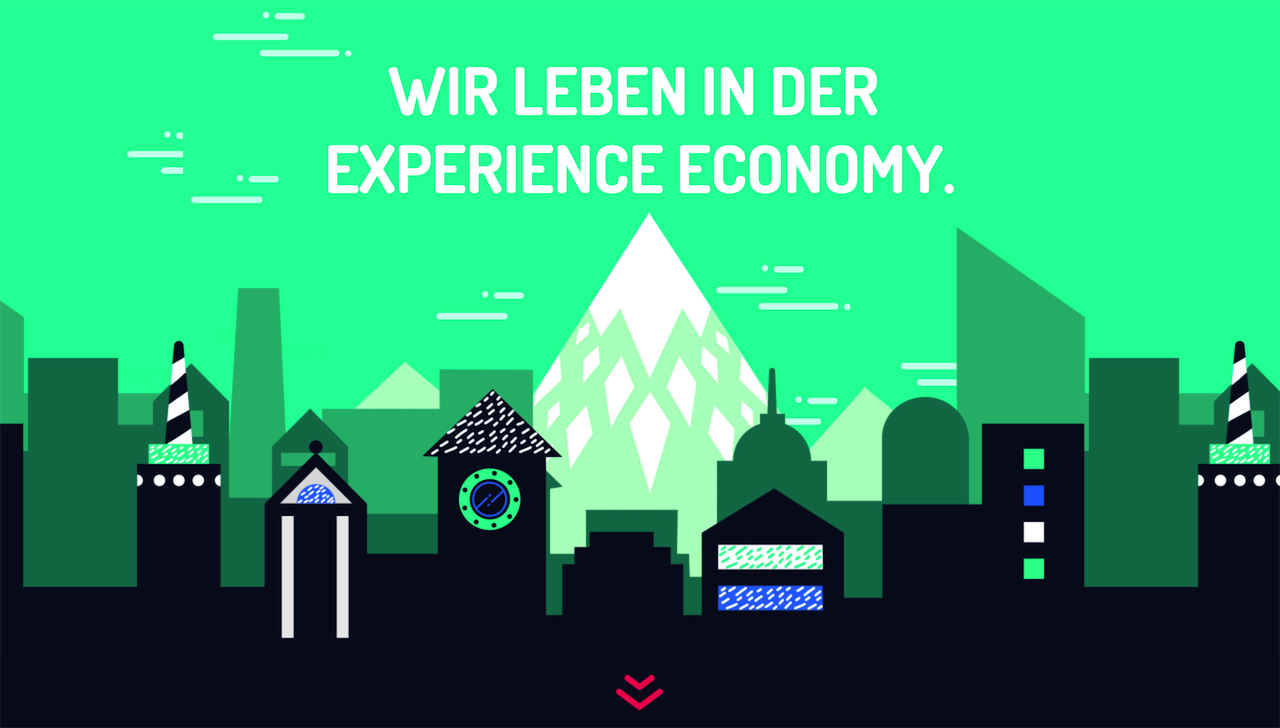 Experience Economy Study Website Screenshot