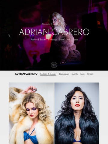 Adrian Cabrero Photography Thumbnail Preview