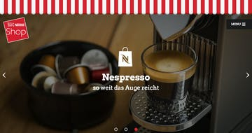 Nestlé Shop Wien Thumbnail Preview