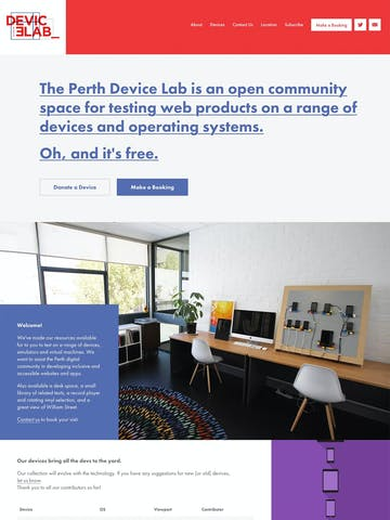 Device Lab Perth Thumbnail Preview