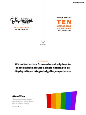Hashtags Unplugged Thumbnail Preview