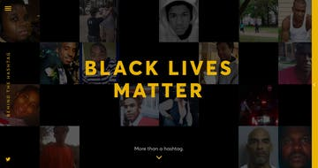 Behind The Hashtag: #BlackLivesMatter Thumbnail Preview