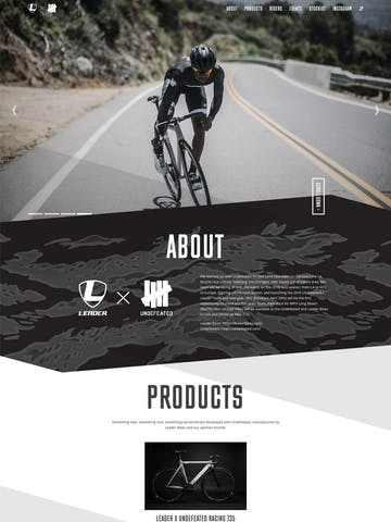 Leader Bikes x Undefeated racing team Thumbnail Preview