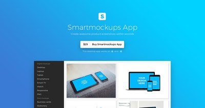 Smartmockups App Thumbnail Preview