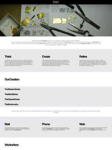 Dali Gioielli | Unique Creations Thumbnail Preview