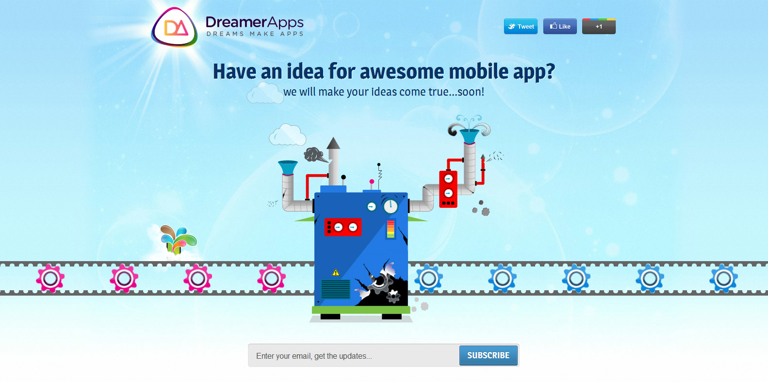 DreamerApps Website Screenshot
