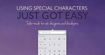 Characters mac app Thumbnail Preview