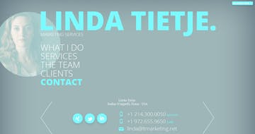 Linda Tietje. Marketing Services. Thumbnail Preview