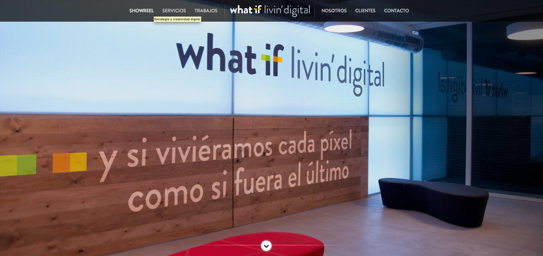 what if Website Screenshot