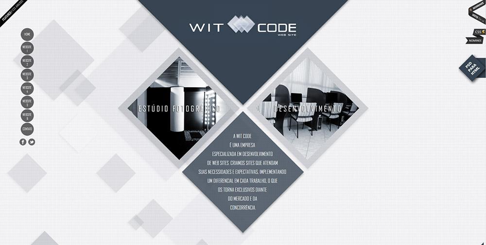 Witcode Website Screenshot