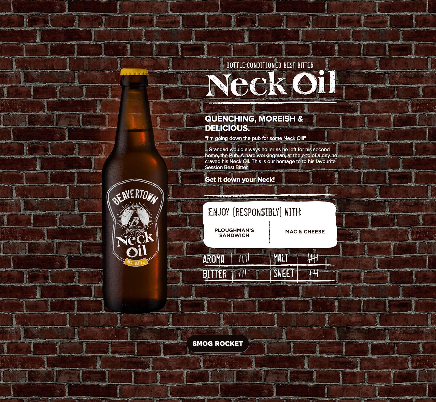 Beavertown Brewery Website Screenshot