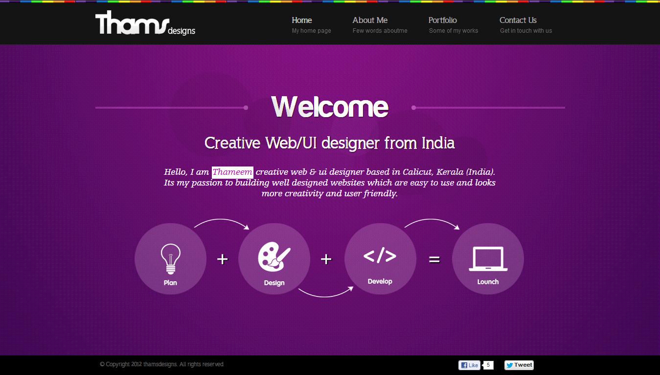 Thameem Website Screenshot