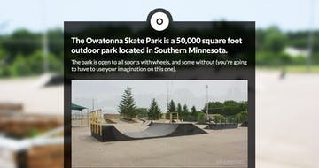 Owatonna Skate Park Thumbnail Preview