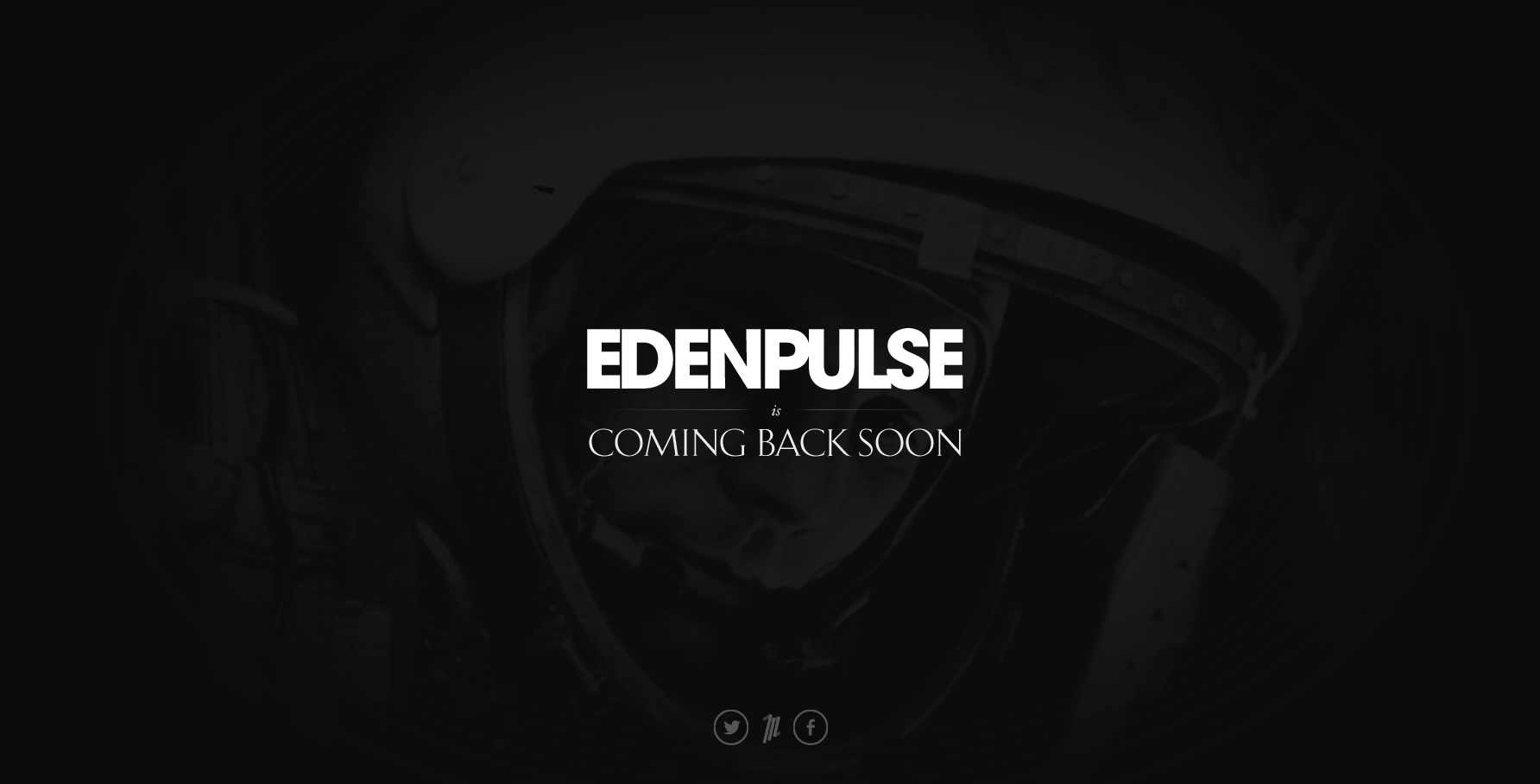 EDENPULSE Website Screenshot