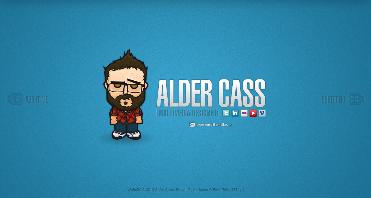 Alder Cass Website Screenshot