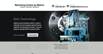 Machining Centers by Makino Thumbnail Preview