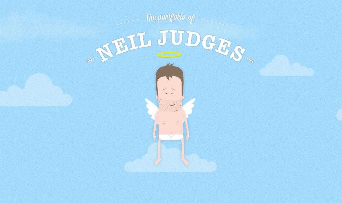 Neil Judges Website Screenshot