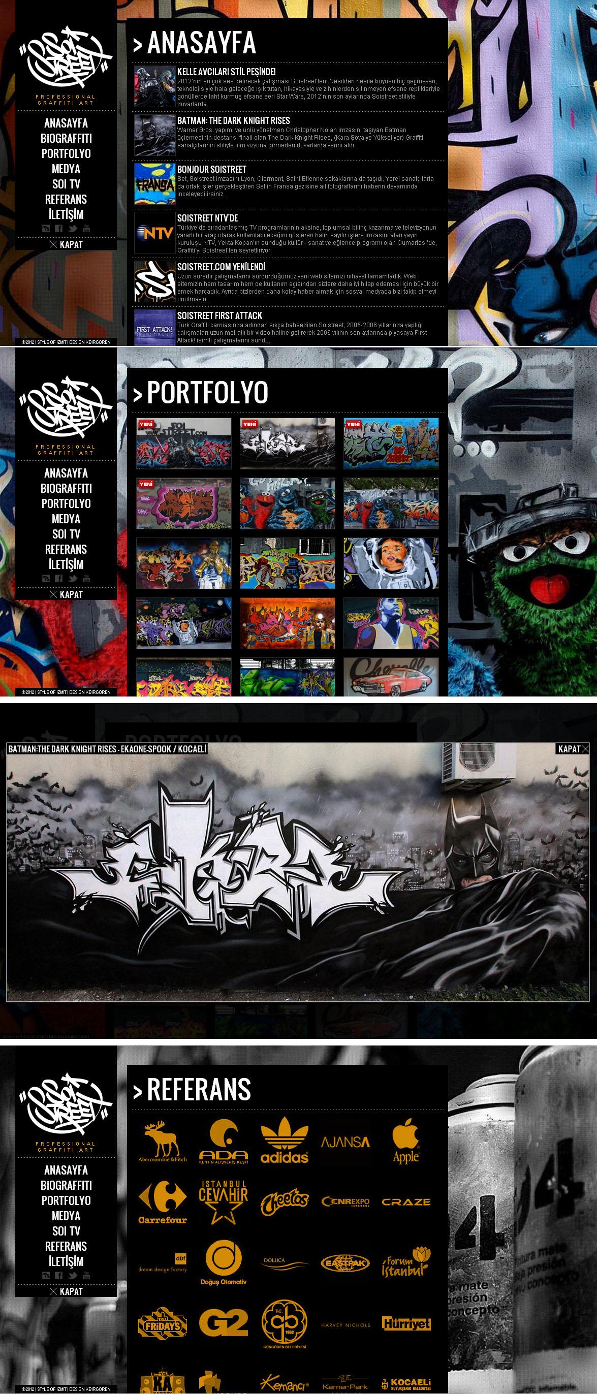 Soi Street Website Screenshot
