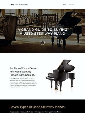 A Grand Guide to Buying a Used Steinway Thumbnail Preview