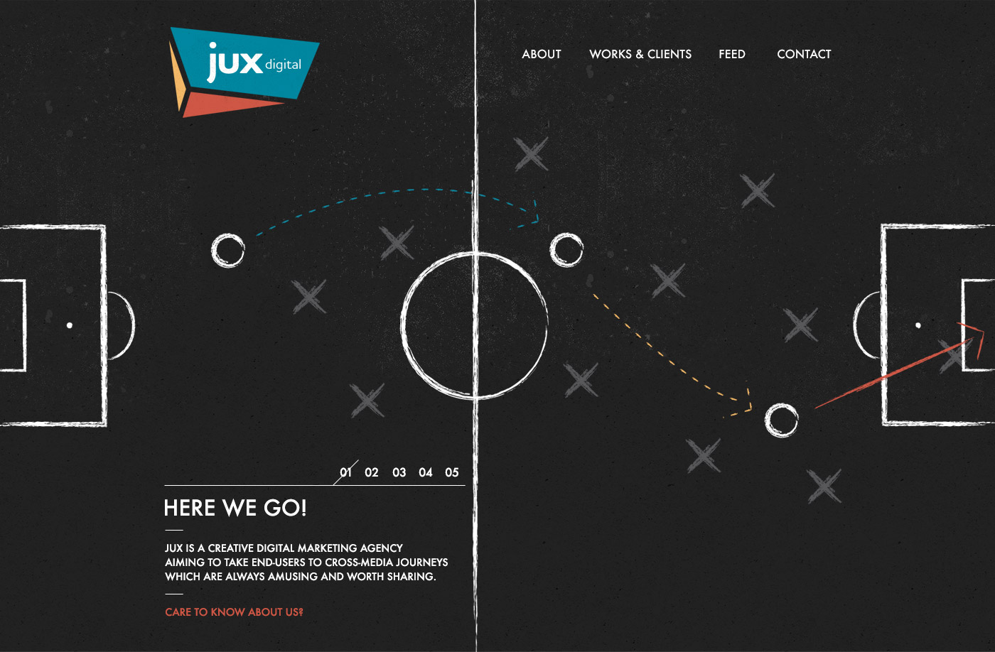 Jux Digital Website Screenshot